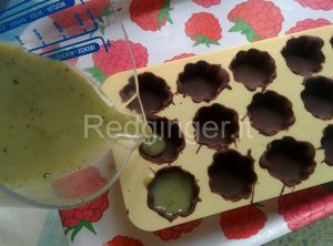 Cioccolatini al the matcha 4