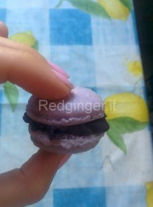 Blueberry macarons 5