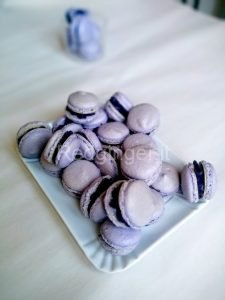 Blueberry macarons 7